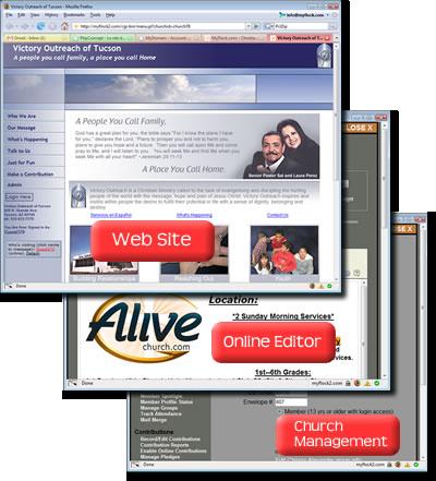 church website design